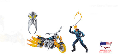Marvel Legends Series 6-In Ghost Rider w/ Flame Cycle Comic Lovers Action Figure