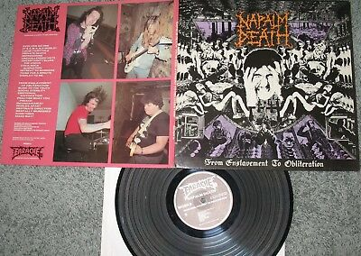 Napalm Death - LP - From Enslavement to Obliteration