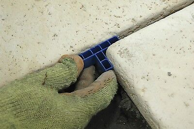 GAPFAST PAVING SPACERS for Patio Slabs & Flags - 10mm Tees x 100