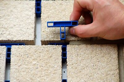 GAPFAST PAVING SPACERS for Patio Slabs & Flags - 10mm Tees x 50