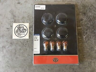Harley Davidson Genuine Bullet Turn Signal Lens And Bulbs 69304-02