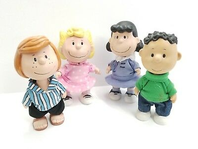Hallmark Limited Edition Peanuts Ceramic Figures Patty Sally Lucy Franklin RARE