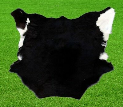 """New Calfhide Rugs Area Cow Skin Leather 6.04 sq.feet (29""""x30"""") Calf hide A-1187"""