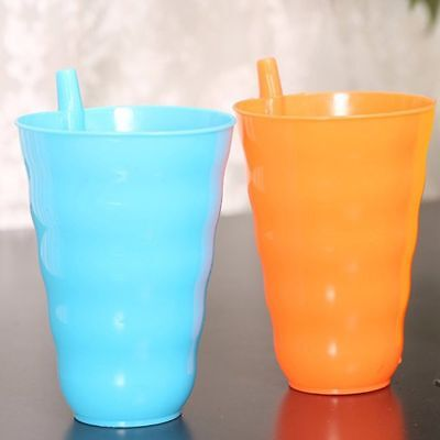 Straw Juice Cups Straw Mug Milk Cup Cup Cold Drink Cup Drinking Water Cups