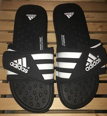 6a44462c1 ADIDAS Men s ADISSAGE SUPERCLOUD Soft Quick-Dry Slide Slippers Sandals US 13