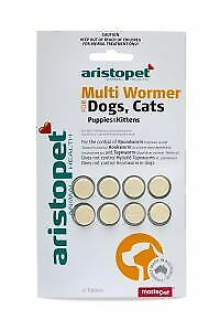 Aristopet Multi Wormer Dog Cat Puppy & Kitten 8 Pack