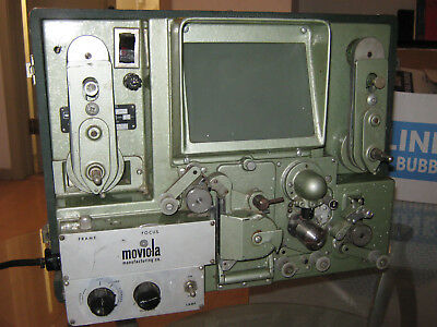 16mm FILM  MOVIOLA LIBRARY VIEWER PROJECTOR LVR  for EDITING & WATCHING MOVIES