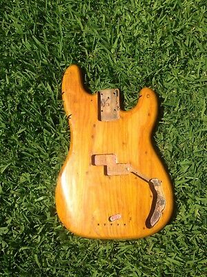 1973, 1974, 1975, 1976 Vintage Fender Precision Bass Body! Worldwide Shipping!
