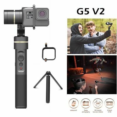 NewFeiyu G5 V2 Update 3-Axis Splash-Proof Handheld Camera Gimbal for GoPro Hero