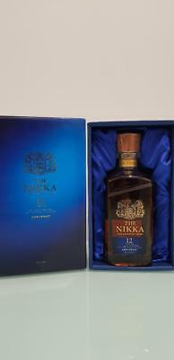NIKKA 12 YEARS OLD JAPANESE WHISKY 700ml @ 43 % abv