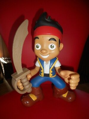 Jake and the Never Land Pirates Yo Ho Let's Go! Jake Talking Action Figure