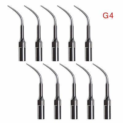 10x Dental Perio Scaling Tips Insert Tip G4 Fit WOODPECKER/EMS Ultrasonic Scaler