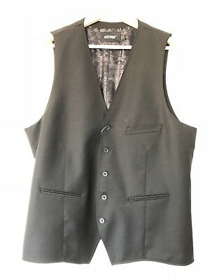 Bnwt Oxford Black Vest Size Xl Rrp 129