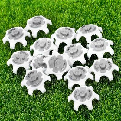 10pcs Durable White Golf Shoe Soft Spike Pins Thread Replacement Outdoor  Gift