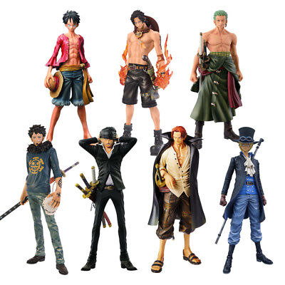 One Piece Figure Ace Shanks Monkey D Luffy Action PVC Collectible Model Doll