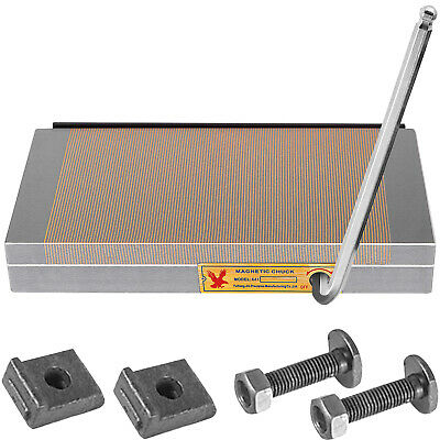 6x12 inch Fine Pole Magnetic Chuck Machining Workholding Permanent