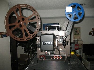 Eiki 16Mm Nt-0 Film Projector W/sound Everything Works Great Super 16 50Mm Lens