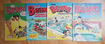 4x The Beano Summer Special Comic Large Format 1979 1980 1981 1982 Very Good
