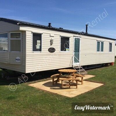 8 Berth Deluxe Caravan Haven Doniford Bay Somerset. Dog Friendly 22-26 OCTOBER