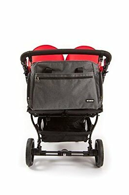 Baby Monsters - Bolso cambiador para la silla de paseo Easy Twin, color negro