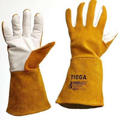 Prochoice TIG WELDING GLOVES 1Pair Size-L Fire Resistant, Made From Deerskin