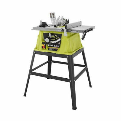 Ryobi 15 Amp 10 in. Table Saw with Steel Stand RTS10G Reconditioned+*