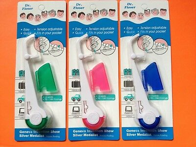 3 pcs Amazing Dr Floser. Floss & Flossers. Teeth Care. Dental Flosser. Oral Care