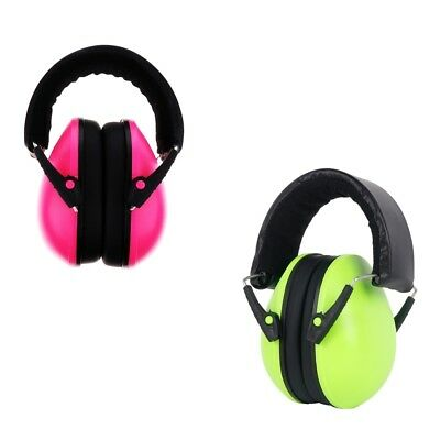 2xEar Defenders Headphones NRR 25DB Kid Safety Ear Muffs Shooting Protector