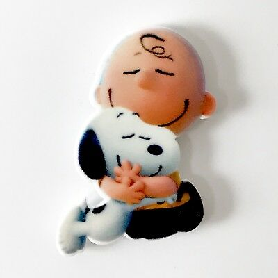 Cute Snoopy And Charlie Brown Retro Vintage Style Fridge Magnet