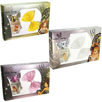 Set Winx Fairy Couture Con Profumo Edt 50Ml Per Bambina E Clip Per Capelli