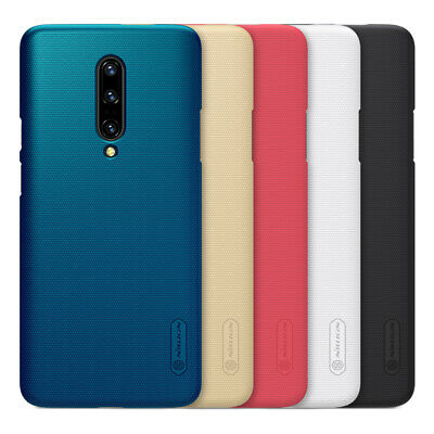 For OnePlus 6T 100% Nillkin Super Frosted Shield Matte Slim Hard Back Case Cover