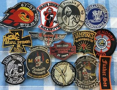 Ghost Rider Angels Vampires Patch Diggers Freaks Spider Skull Aufnäher MC MF 81