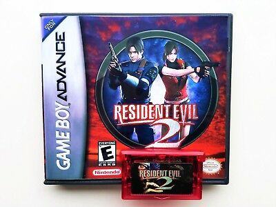 RESIDENT EVIL 2 w/ Case GBA Unreleased Prototype - Nintendo Gameboy (US  Seller)