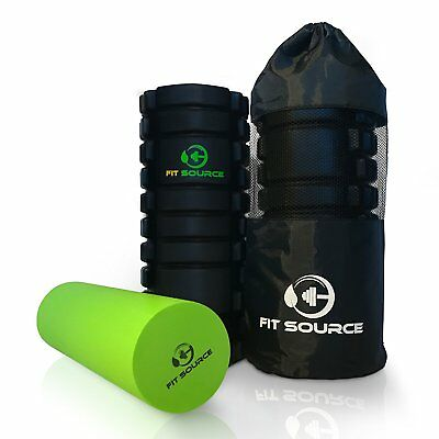 Fit Source Foam Roller, Exercise Foam Roller, Muscle Roller - Exercise Workout