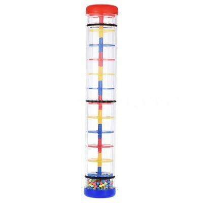 12 inch Rainmaker Rain Stick Musical Toy New Gift for Kids Toddlers R1Q3