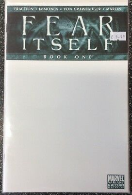 Fear Itself Book One (2013) Blank Variant