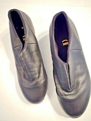 Ladies Black Clogging ~ Tap Dancing Shoes, Steven Stompers, Womens US size 7.5