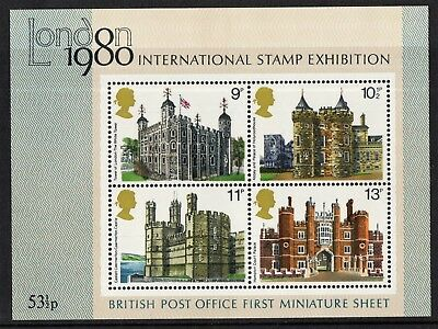 ms.1058.   buildings m/sheet.        MNH