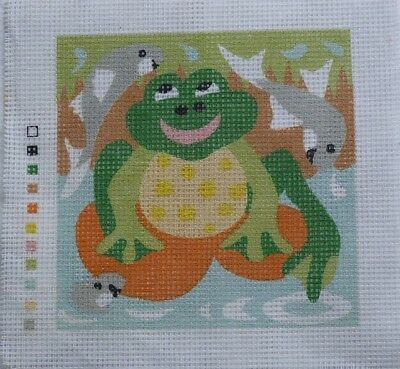 Small Frog Tapestry Canvas