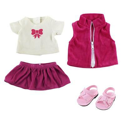 American Girl Doll Accessories Suit Clothes & Shoes for American Girl Doll