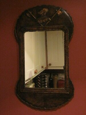 18Th Century Mahogany Mirror Manufacturers Mark London 1719