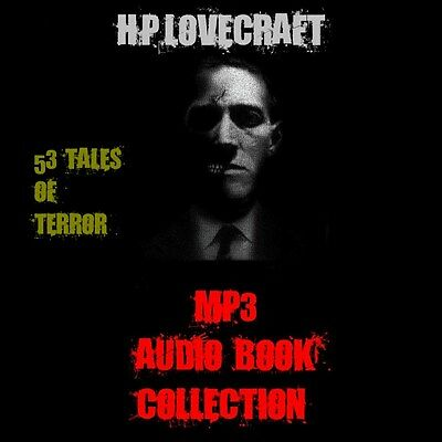 H. P. Lovecraft Audiobook Collection 53 Tales of Terror - MP3 DOWNLOAD