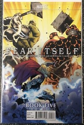 Fear Itself Book Five (2011) 1:25 Immonen Variant