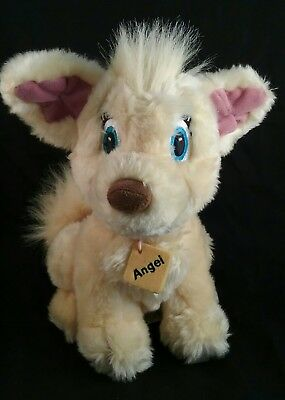 Disney Store Vintage Plush Angel Lady and The Tramp 2 II Soft Stuffed Animal Toy