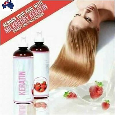 Milkberry Keratin Hair Therapy And Straightening
