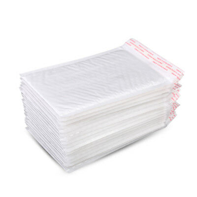 White Bubble Self Seal Mailers Padded Envelopes Bags Shipping Bag 4.3''X5.12''