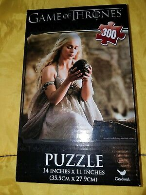 "Game of Thrones [300pc Puzzle 14"" x 11""] Khalessi with Dragon Egg (New)"