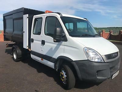 2010 60 Iveco Daily 70C18 3.0 Td Crew Cab Tipper / Refuse Truck / Manual Box