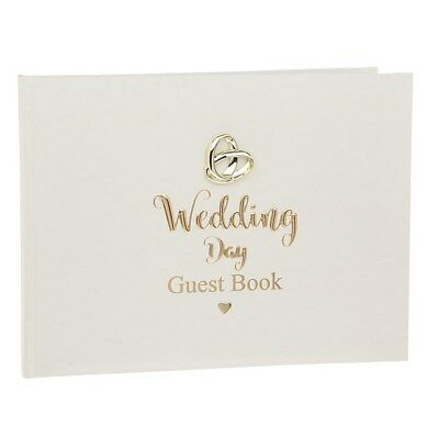 Bands Of Gold Wedding Guest Book Wedding Gift 280157