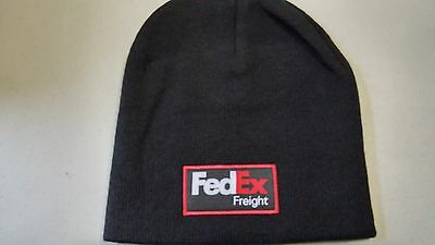 Fedex Freight Logo Winter Beanie Hat New  Black